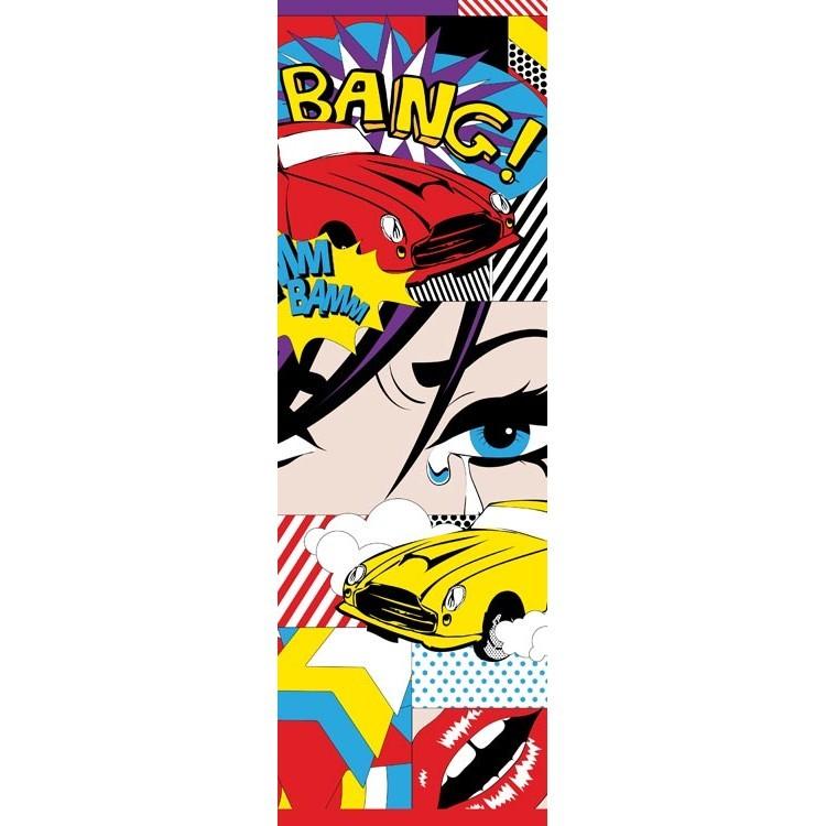 Pop art, Κόμικ, Κρεμάστρες & Καλόγεροι
