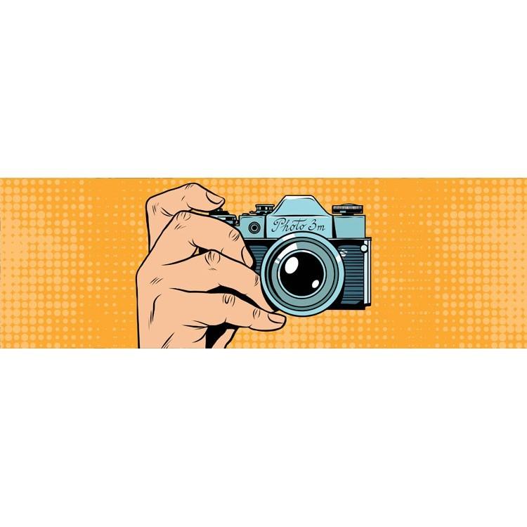 Ρετρό κάμερα, Κόμικ, Κρεμάστρες & Καλόγεροι