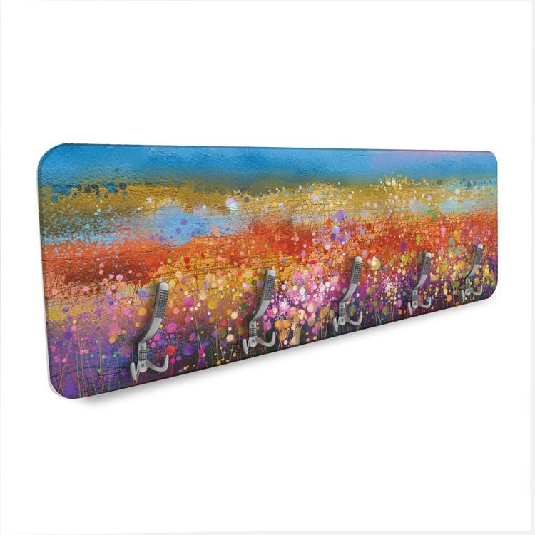 Ουράνιο Τόξο με Λουλούδια, Φύση, Κρεμάστρες & Καλόγεροι