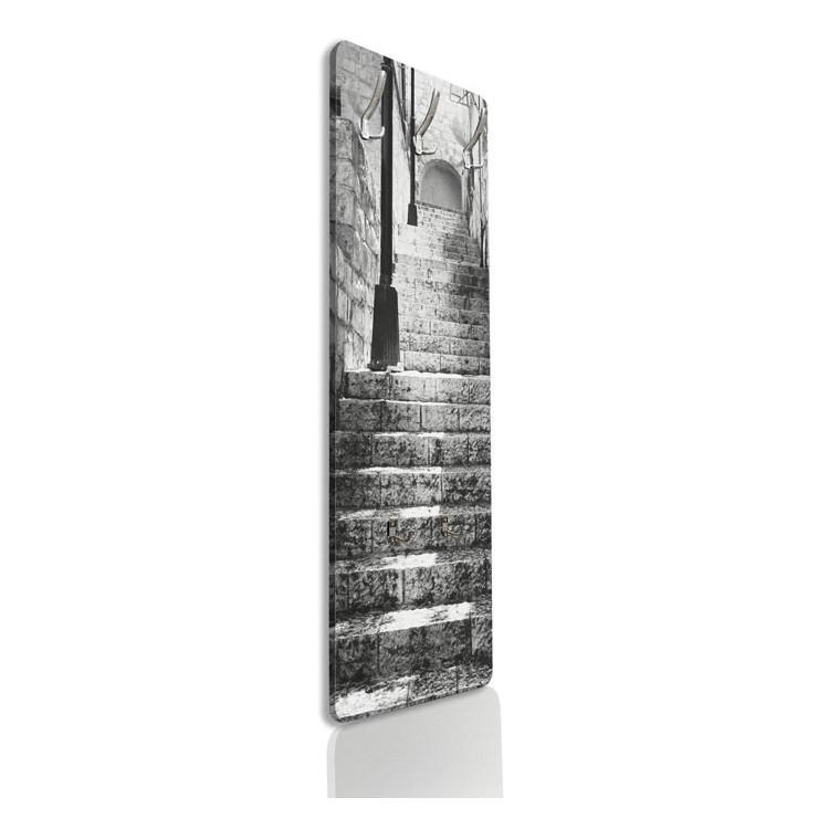 Ασπρόμαυρη Εικόνα με Σκάλες, Πόλεις -Ταξίδια, Κρεμάστρες & Καλόγεροι
