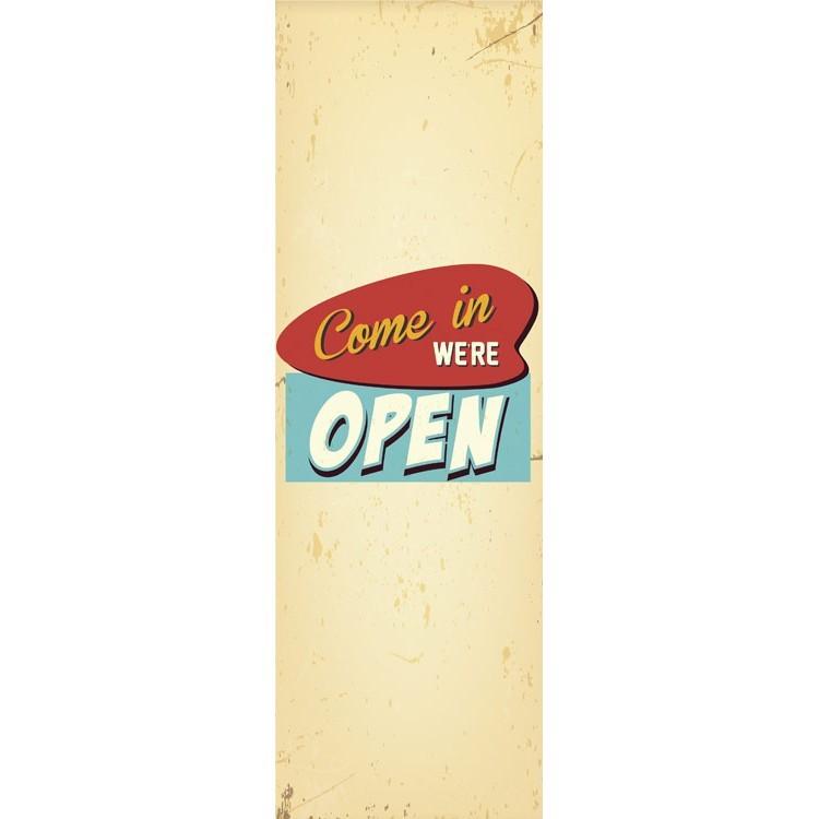 Come in we're open, Vintage, Κρεμάστρες & Καλόγεροι