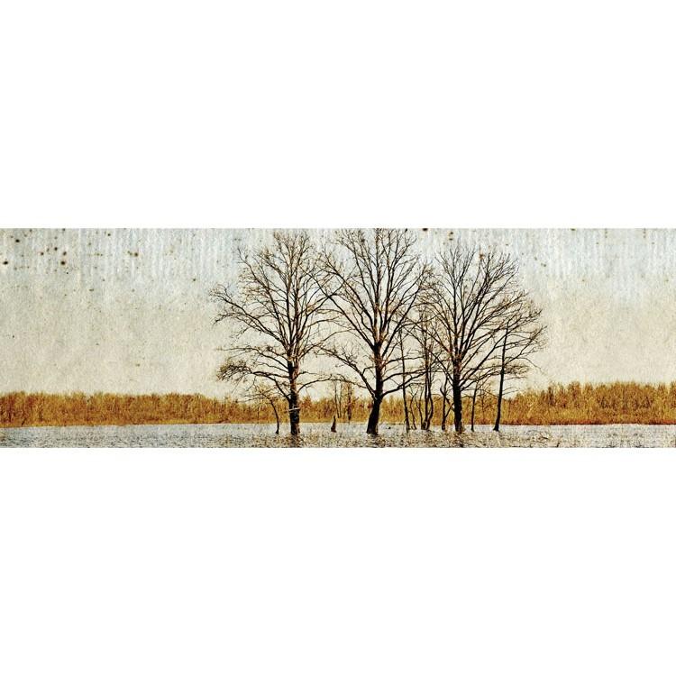 Δένδρο σε γδαρμένο φόντο, Vintage, Κρεμάστρες & Καλόγεροι