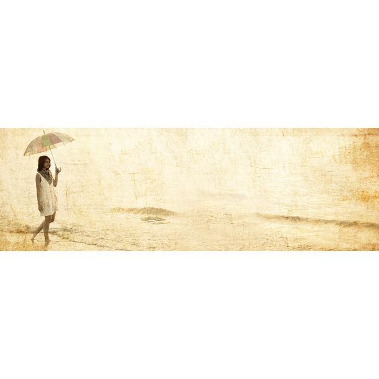 Kορίτσι στην ακτή, Vintage, Κρεμάστρες & Καλόγεροι