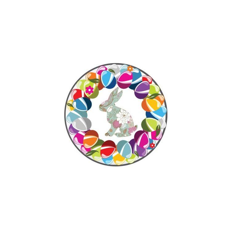 Πασχαλινό στεφάνι, Πασχαλινά, Καρτολίνες κρεμαστές