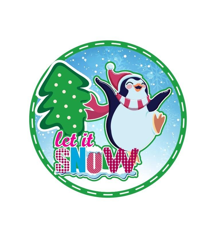 Let it Snow, Χριστουγεννιάτικα, Καρτολίνες κρεμαστές