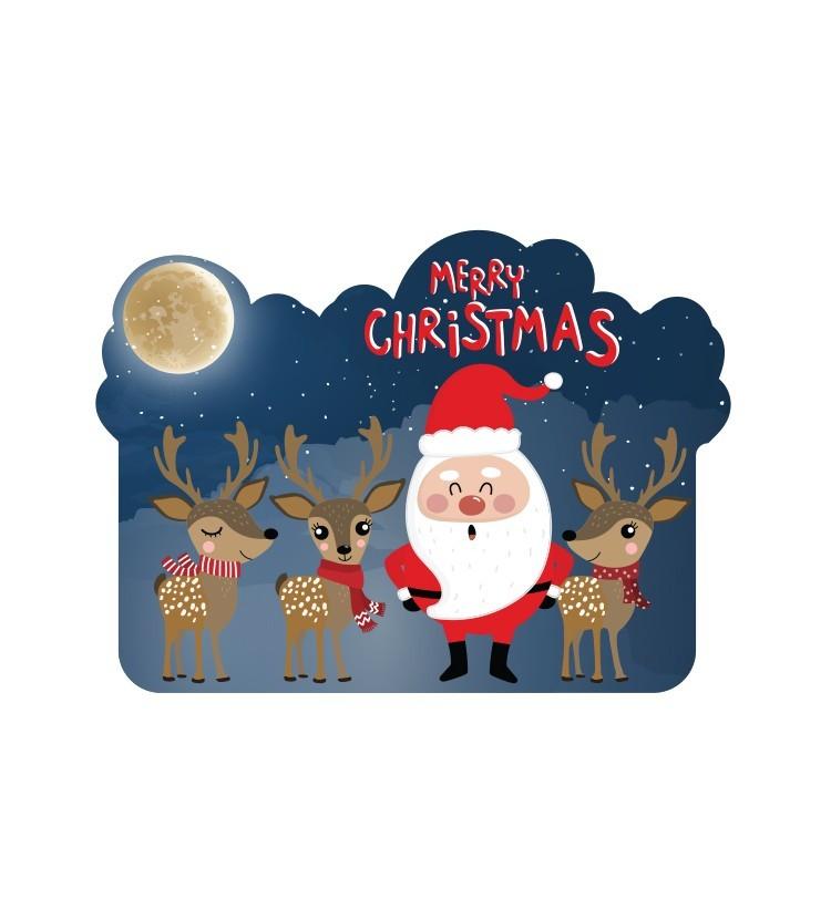 Santa Clauss, Χριστουγεννιάτικα, Καρτολίνες κρεμαστές