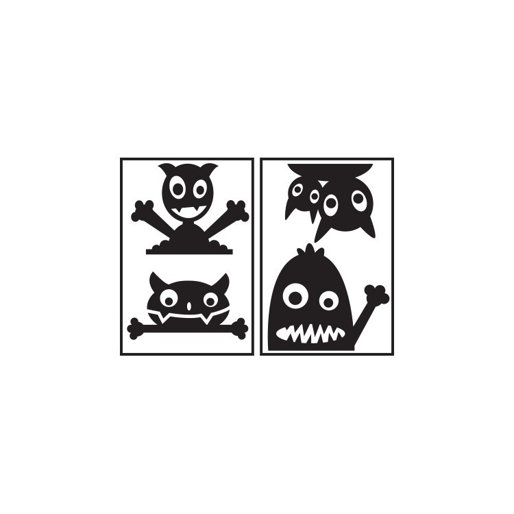 Monsters, Διάφορα, Αυτοκόλλητα πρίζας