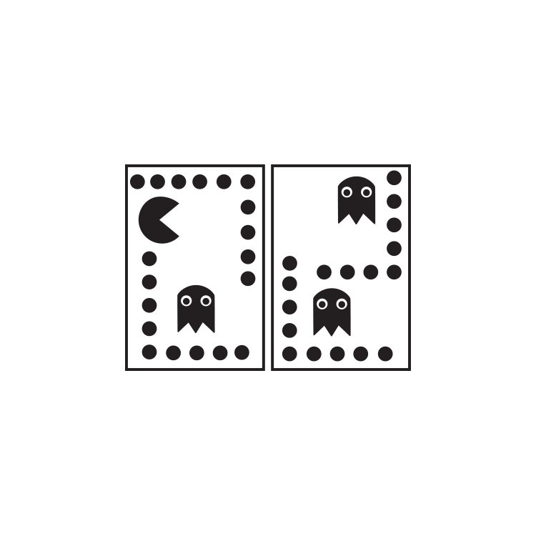 Pac-man, Διάφορα, Αυτοκόλλητα πρίζας