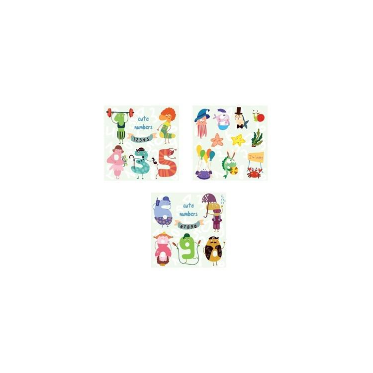 123..., Παιδικά, Mini Set καμβάς
