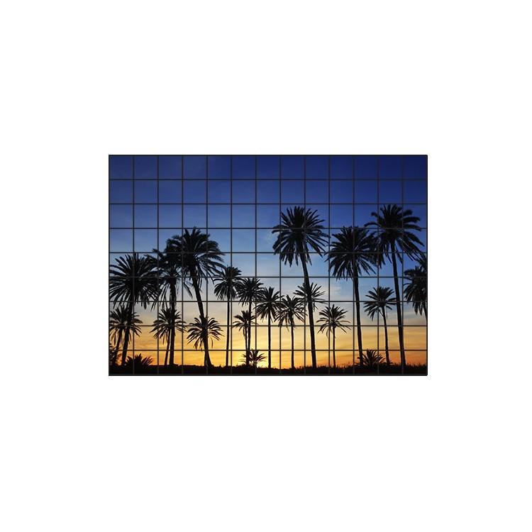Φοίνικες στο ηλιοβασίλεμα, Φωτογραφίες, Αυτοκόλλητα πλακάκια