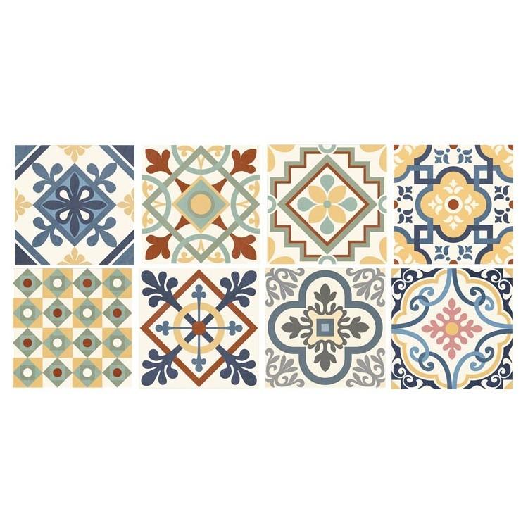 Κλασικό μοτίβο (8 τεμάχια), Μοτίβα, Αυτοκόλλητα πλακάκια