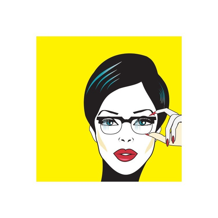 Πορτρέτο Γυναίκας, Κόμικς, Ρολοκουρτίνες