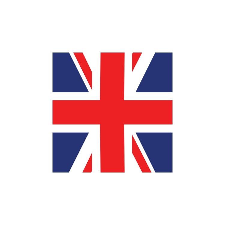 Αγγλία, Σημαίες του κόσμου, Ρολοκουρτίνες