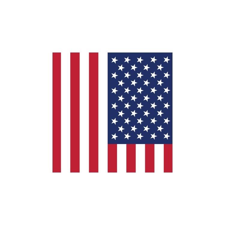 Aμερική, Σημαίες του κόσμου, Ρολοκουρτίνες