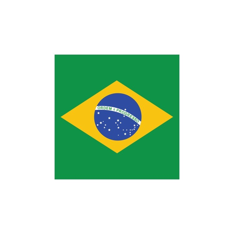 Βραζιλία, Σημαίες του κόσμου, Ρολοκουρτίνες