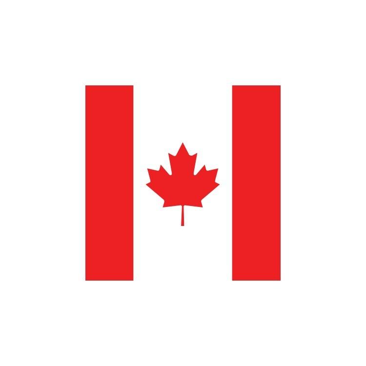 Καναδάς, Σημαίες του κόσμου, Ρολοκουρτίνες