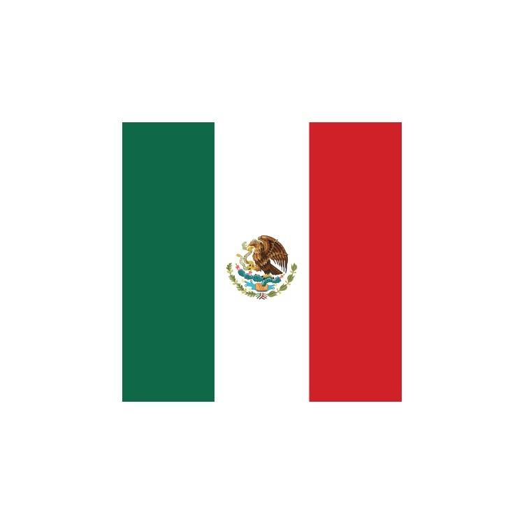 Μεξικό, Σημαίες του κόσμου, Ρολοκουρτίνες