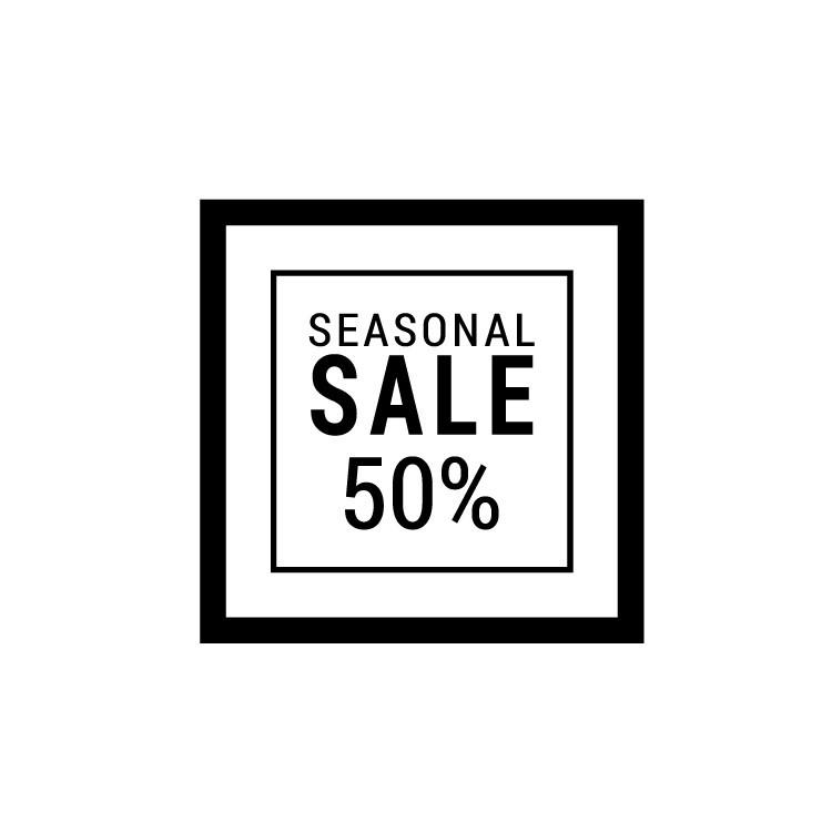 Seasonal Sale, Εκπτωτικά, Αυτοκόλλητα βιτρίνας