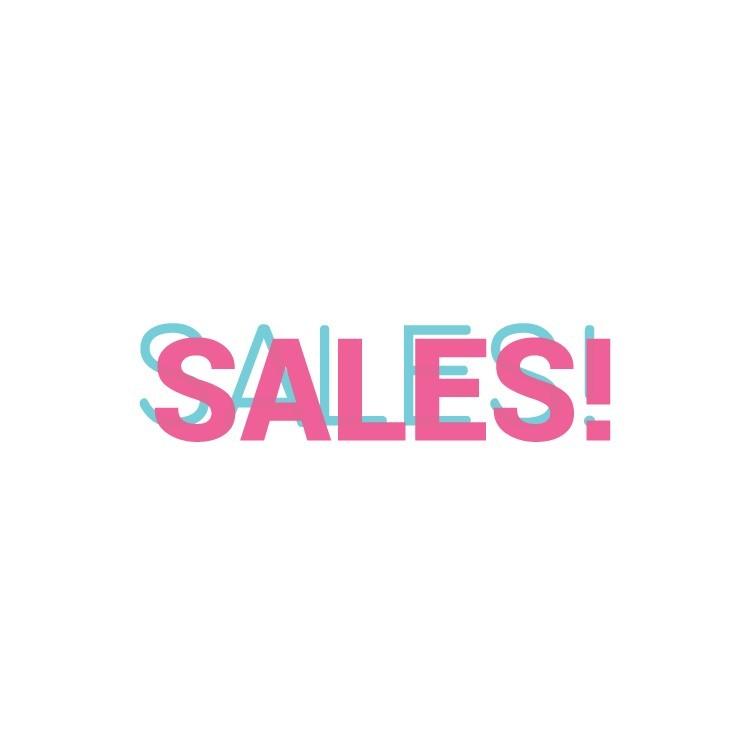 Sales, Εκπτωτικά, Αυτοκόλλητα βιτρίνας
