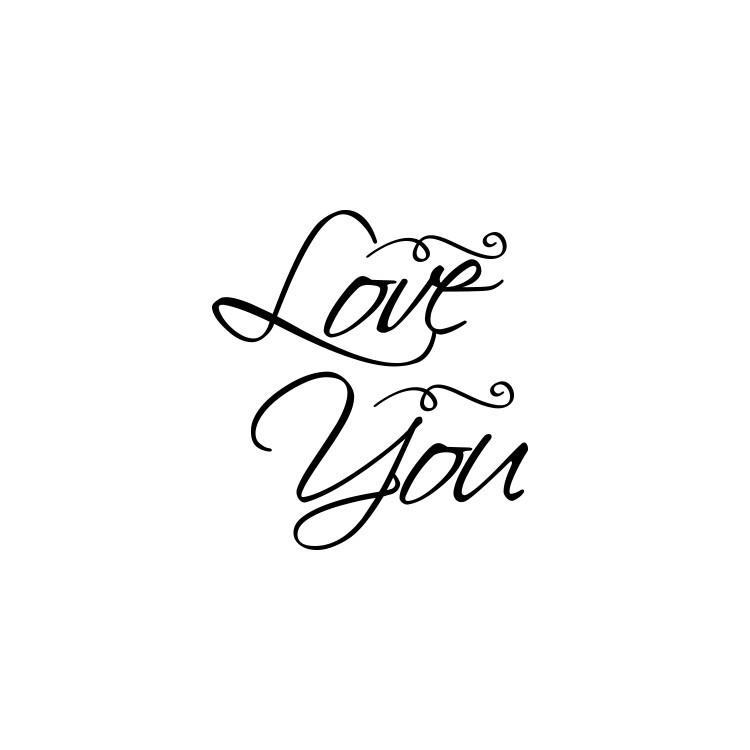 Love you, Valentines Day, Αυτοκόλλητα βιτρίνας