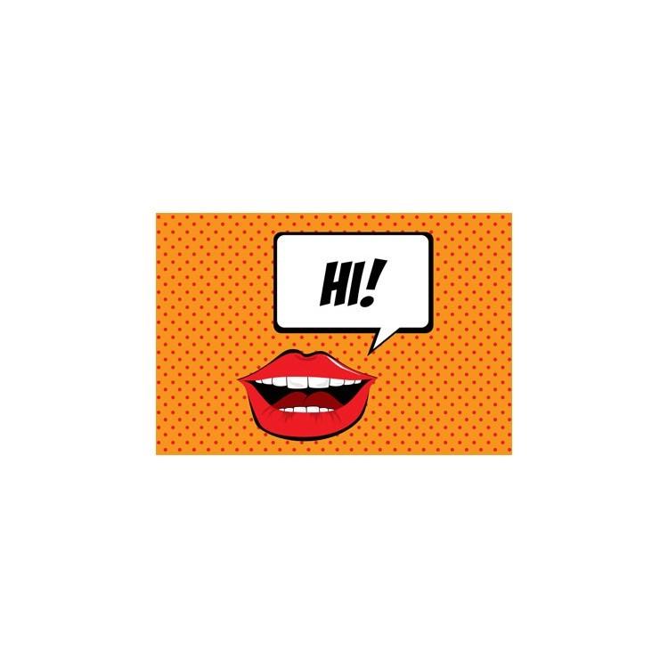 Ηι!, Skins sticker, Αυτοκόλλητα Laptop