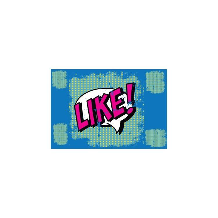 Like, Skins sticker, Αυτοκόλλητα Laptop