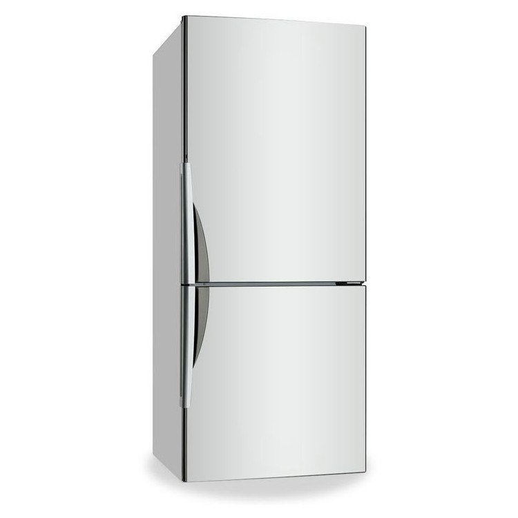 White, Μονόχρωμα, Αυτοκόλλητα ψυγείου