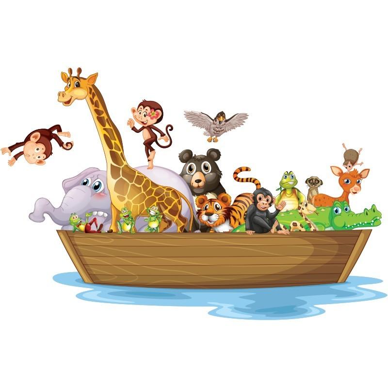 Κιβωτός του Νώε, Παιδικά, Αυτοκόλλητα τοίχου