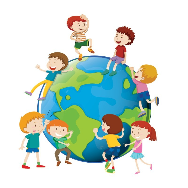 Ο γύρος του κόσμου, Παιδικά, Αυτοκόλλητα τοίχου