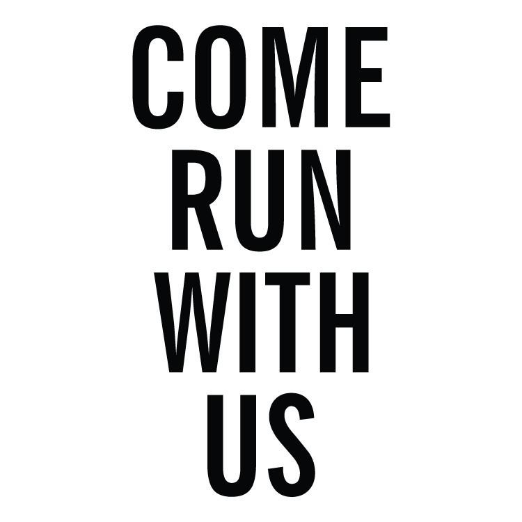 Come run with us, Φράσεις, Αυτοκόλλητα τοίχου
