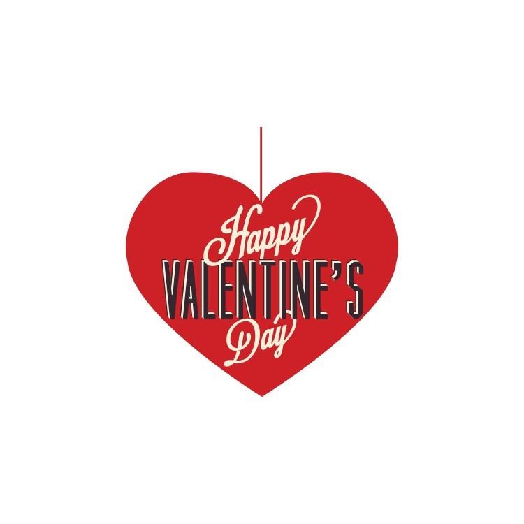 Happy Valentine Day, Valentines Day, Αυτοκόλλητα βιτρίνας
