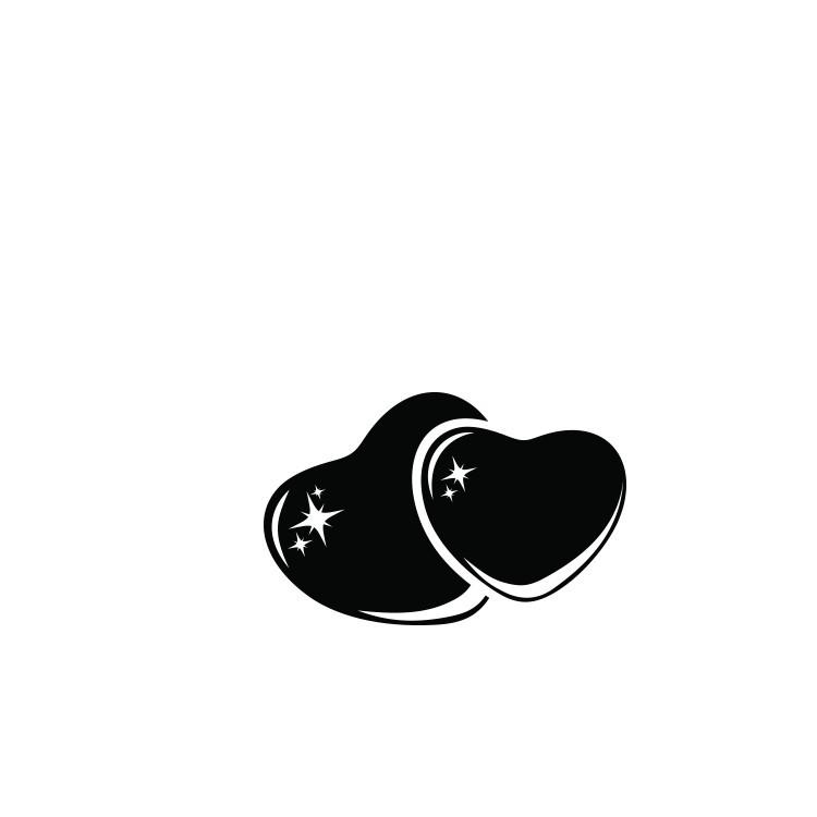 Καρδιές μαζί, Διάφορα, Αυτοκόλλητα τοίχου
