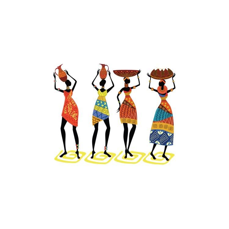 Έθνικ χορεύτριες, Διάφορα, Αυτοκόλλητα τοίχου