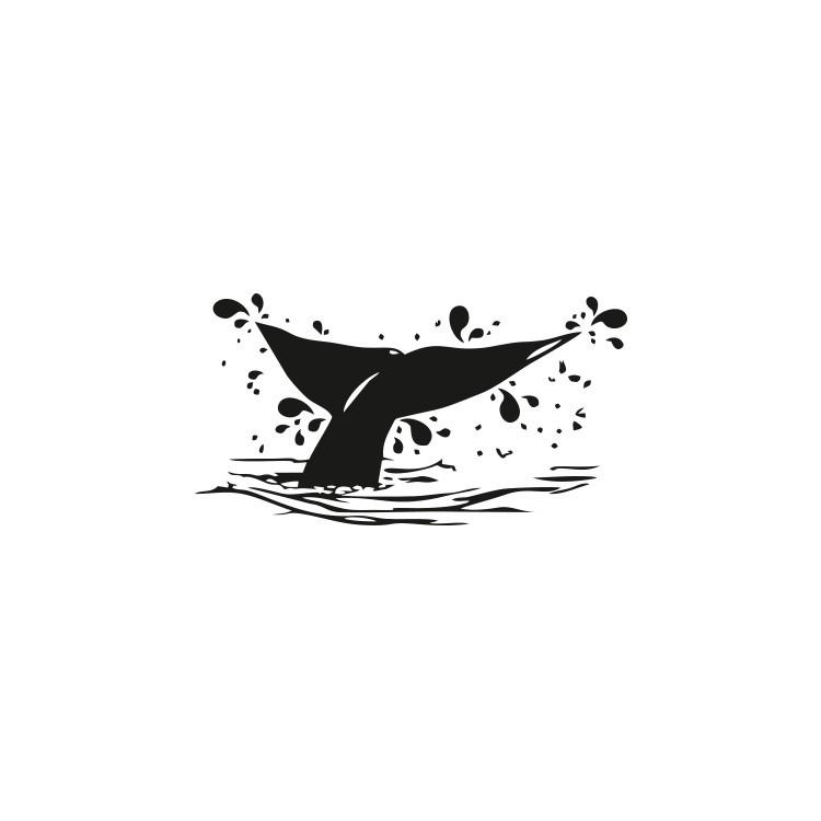 Φάλαινα, Κρεμάστρες, Αυτοκόλλητα τοίχου