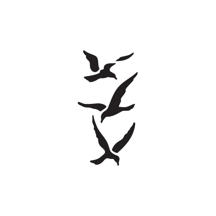Πουλιά, Ναυτικά, Αυτοκόλλητα τοίχου