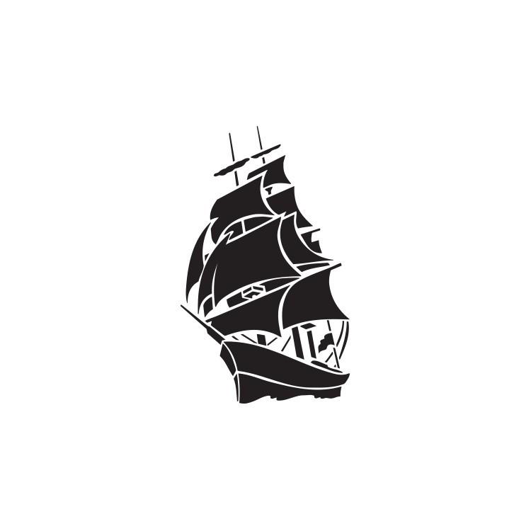 Καράβι, Ναυτικά, Αυτοκόλλητα τοίχου