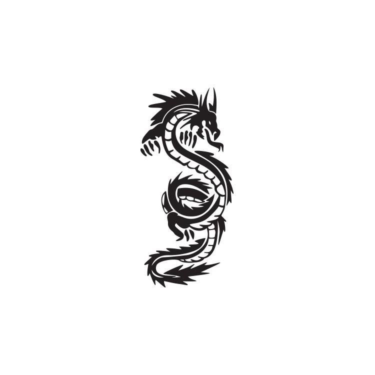 Δράκος, Ζώα, Αυτοκόλλητα τοίχου