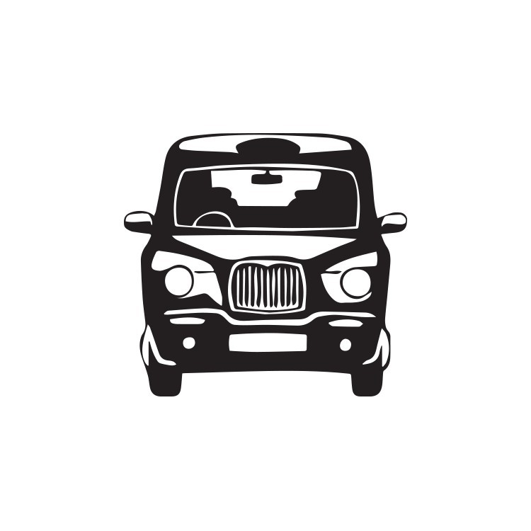Ταξί, Λονδίνο, Αυτοκόλλητα τοίχου
