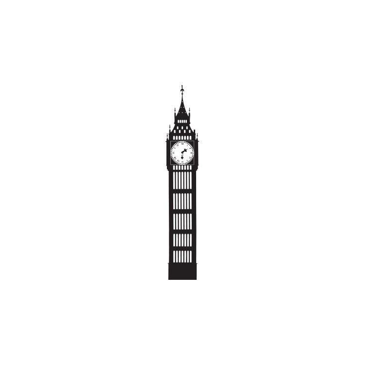 Big Ben, Λονδίνο, Αυτοκόλλητα τοίχου