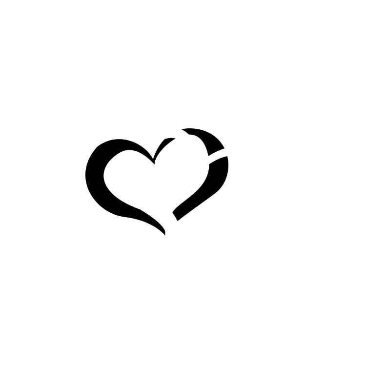 Καρδούλες, Διάφορα, Αυτοκόλλητα τοίχου