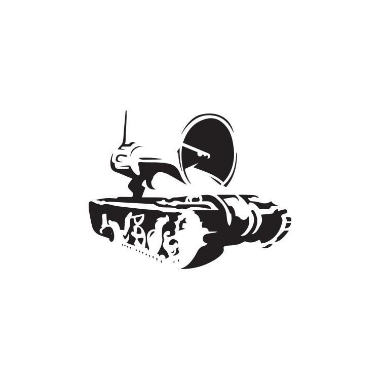 Propaganda, Banksy, Αυτοκόλλητα τοίχου