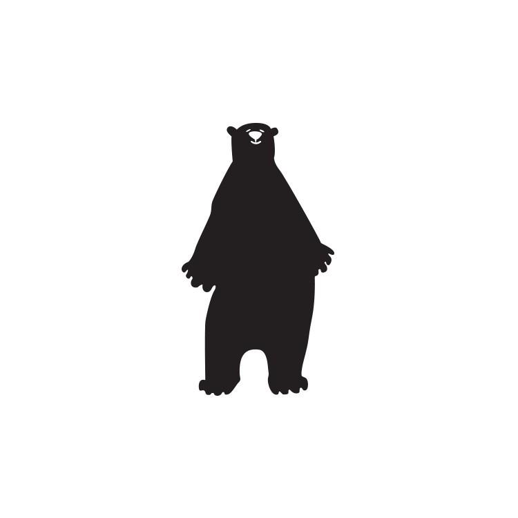 Αρκούδα, Μαυροπίνακες, Αυτοκόλλητα τοίχου