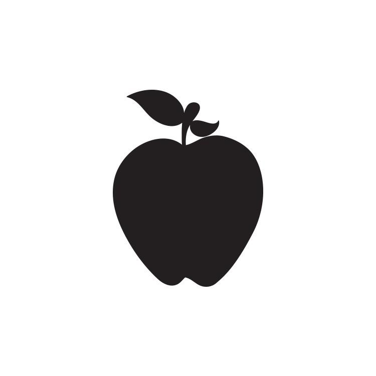 Μήλο, Μαυροπίνακες, Αυτοκόλλητα τοίχου