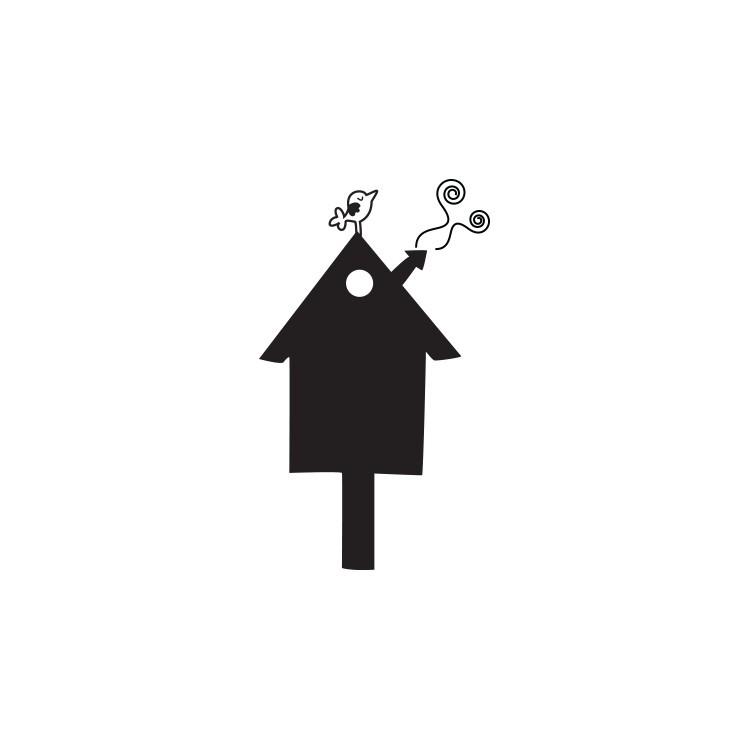 Σπιτάκι, Μαυροπίνακες, Αυτοκόλλητα τοίχου