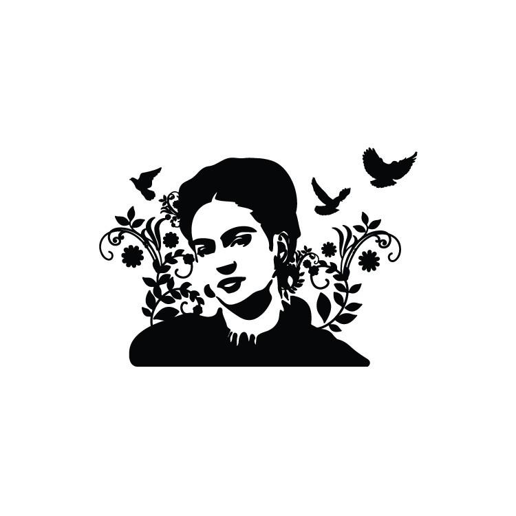 Φρίντα Κάλο, Φιγούρες, Αυτοκόλλητα τοίχου