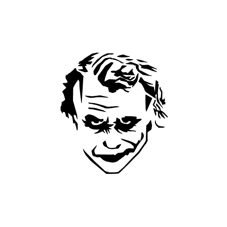 Joker, Φιγούρες, Αυτοκόλλητα τοίχου