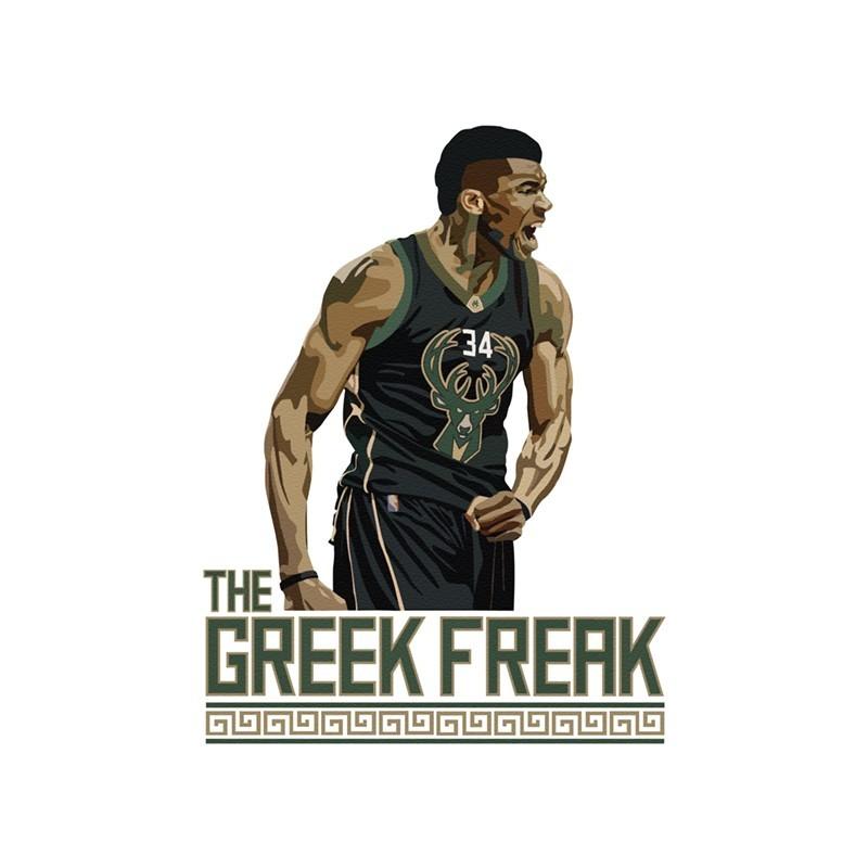 The Greek Freak, Φιγούρες, Αυτοκόλλητα τοίχου
