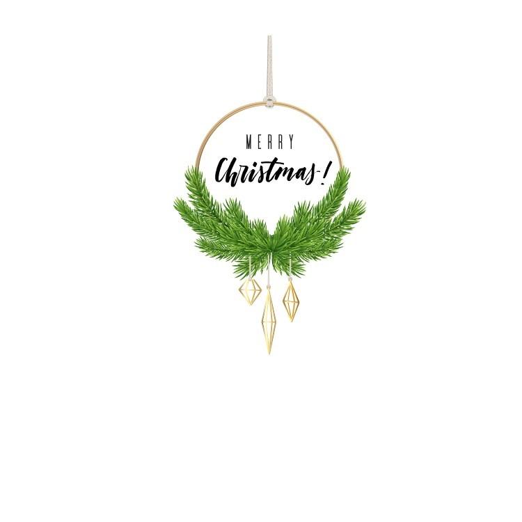Merry Christmas!, Χριστουγεννιάτικα, Αυτοκόλλητα βιτρίνας
