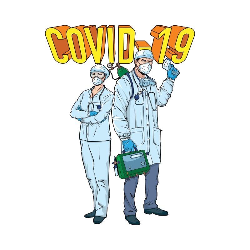 Γιατροί ήρωες, Κόμικς, Αυτοκόλλητα τοίχου