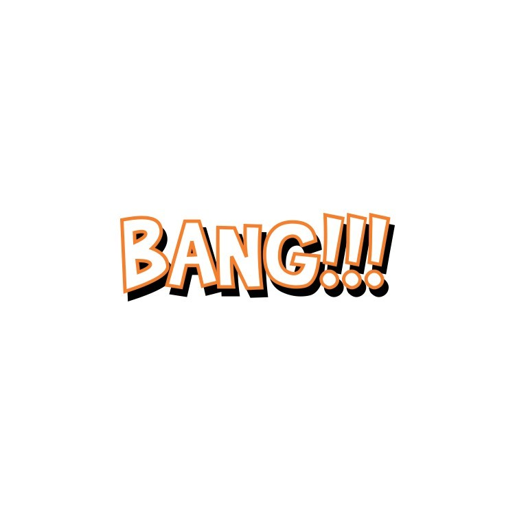 Bank!!!, Κόμικς, Αυτοκόλλητα τοίχου